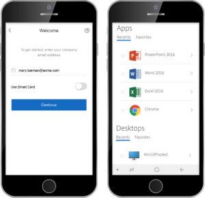 Citrix Workspace app login