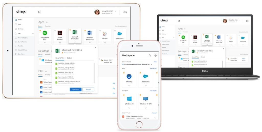 Citrix Workspace works on all devices