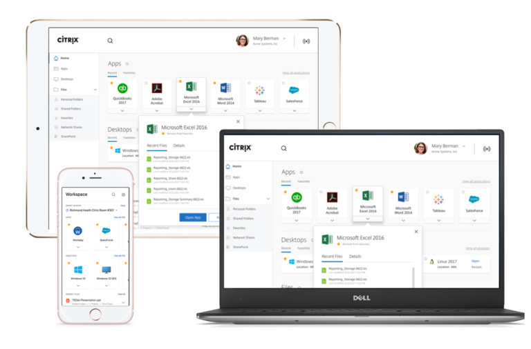 Citrix Workspace App works on any device