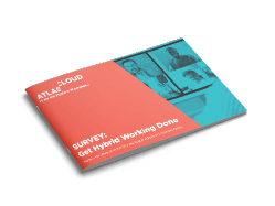 Image of the Get Hybrid Working Done report brochure