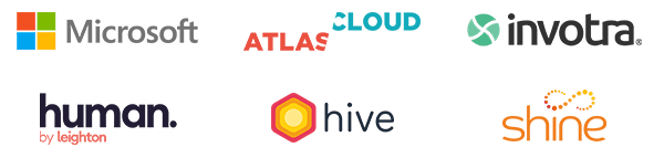 Microsoft, Bruce Daisley, Atlas Cloud, Invotra, Human by Leighton, Hive HR, Shine Interview